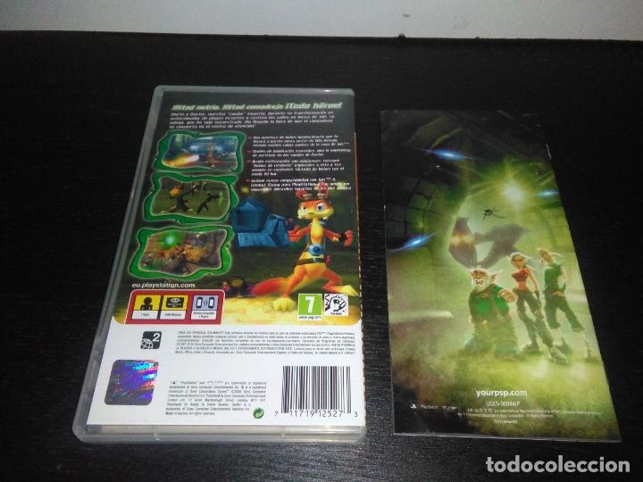 Videojuegos y Consolas: caratula e instrucciones DAXTER PARA SONY PSP - Foto 2 - 165255282