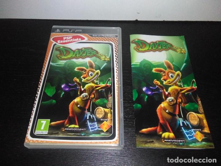 CARATULA E INSTRUCCIONES DAXTER PARA SONY PSP (Juguetes - Videojuegos y Consolas - Sony - Psp)