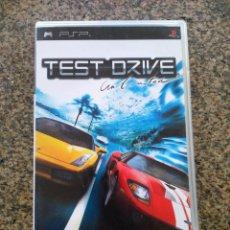 Videojuegos y Consolas: JUEGO -- TEST DRIVE - UNLIMITED -- PSP -- . Lote 165516734