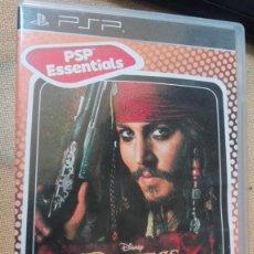 Videojuegos y Consolas: JUEGO PSP PIRATAS DEL CARIBE EL COFRE DEL HOMBRE MUERTO . Lote 165609534