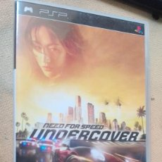 Videojuegos y Consolas: PSP NEED FOR SPEED UNDERCOVER. Lote 165609690