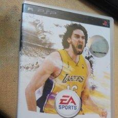 Videojuegos y Consolas: NBA LIVE 10 PAU GASOIL PSP PLAYSTATION . Lote 165610302