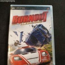 Videojuegos y Consolas: JUEGO PSP BOURNOUT LEGENDS. Lote 166296817
