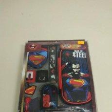 Videojuegos y Consolas: J6- KIT 16 EN 1 COMPATIBLE PSP & VITA SUPERMAN MAN OF STEEL DC COMICS NUEVO . Lote 168723504