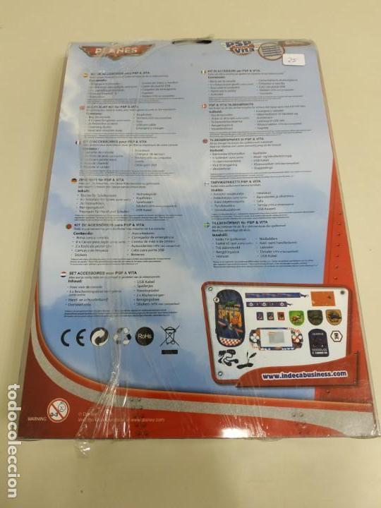 Videojuegos y Consolas: J6- KIT 16 EN 1 COMPATIBLE PSP & VITA DISNEY PLANES NUEVO - Foto 2 - 168725092