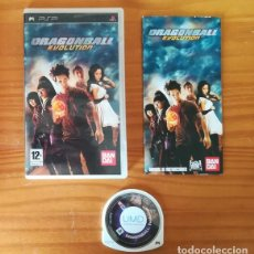 Videojuegos y Consolas: DRAGONBALL EVOLUTION. JUEGO PSP SONY PLAYSTATION PORTABLE BAINDAI DRAGON BALL. Lote 169100764