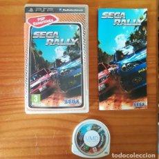 Videojuegos y Consolas: SEGA RALLY. JUEGO PSP SONY PLAYSTATION PORTABLE PSP ESSENTIALS. Lote 169100856