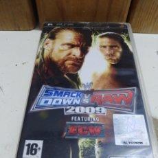 Videojuegos y Consolas: JUEGO PSP SMACK DOWN VS RAM 2009 . Lote 172146290