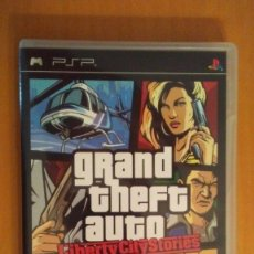 Videojuegos y Consolas: GRAND THEFT AUTO .LIBERTY CITY STORIES . ROCKSTAR GAMES . PSP . ESPAÑA. Lote 172661467