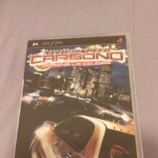 Videojuegos y Consolas: NEED FOR SPEED CARBONO . EA SPORT . PSP. ESPAÑA. Lote 172661702