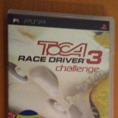 Videojuegos y Consolas: TOCA . RACE DRIVER 3 CHALLENGE. CODEMASTERS . PSP PORTABLE . ESPAÑA. Lote 172661758