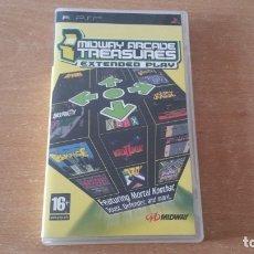 Videojuegos y Consolas: MIDWAY ARCADE TREASURES PSP PAL ESPAÑA MORTAL KOMBAT GAUNTLET RAMPAGE. Lote 172891154