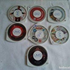 Videojuegos y Consolas: 2-LOTE DE 7 UMD PARA PSP, SIN CAJA. Lote 173479237