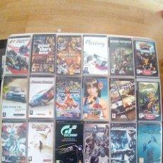 Videojuegos y Consolas: LOTE DE 21 CAJAS MUY BUEN ESTADO CON INSTRUCCIONES-JUEGOS PSP-PAL+PELI PSP COMPLETA-VER FOTOS. Lote 174024862