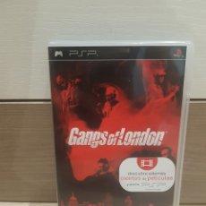 Videojuegos y Consolas: PSP GANGS OF LONDON COMPLETO COMO NUEVO. Lote 174126783