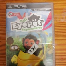 Videojuegos y Consolas: PSP - EYEPET EXPLOTADORES - NUEVO. Lote 174269562