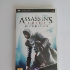Videojuegos y Consolas: JUEGO SONY PSP PLAYSTATION PORTABLE. ASSASSINS CREED BLOODLINES. COMPLETO. Lote 174501939