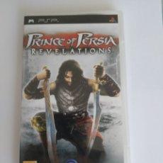 Videojuegos y Consolas: JUEGO SONY PSP PLAYSTATION PORTABLE. PRINCE OF PERSIA REVELATIONS. COMPLETO. Lote 174503974