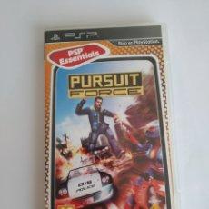 Videojuegos y Consolas: JUEGO SONY PSP PLAYSTATION PORTABLE. PURSUIT FORCE. PSP ESSENTIALS. COMPLETO. Lote 174505133