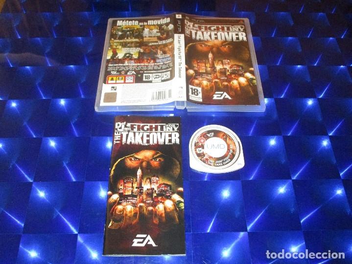 DEF JAM FIGHT FOR NY ( THE TAKEOVER ) - PSP - ULES 00390 - EA - METETE EN LA MOVIDA (Juguetes - Videojuegos y Consolas - Sony - Psp)