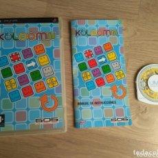 Videojuegos y Consolas: SONY PSP JUEGO KOLOOMN VERSIÓN ESPAÑOLA. Lote 175391033