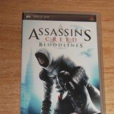 Videojuegos y Consolas: ASSASSIN'S CREED BLOODLINES PSP PAL ESPAÑA COMPLETO COMO NUEVO. Lote 176583700