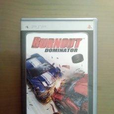 Videojuegos y Consolas: JUEGO PSP UMD BURNOUT DOMINATOR. Lote 176775655