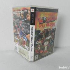 Videojuegos y Consolas: WORMS OPEN WARFARE (SOLO CARATULA CON LIBRETO DE INSTRUCCIONES). Lote 178793407