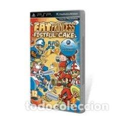 Videojuegos y Consolas: LOTE OFERTA JUEGO SONY PSP - FAT PRINCESS - FISTFUL OF CAKE - NUEVO PRECINTADO. Lote 180151817