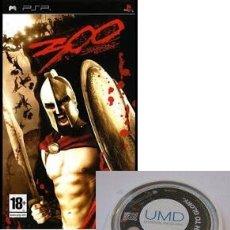 Videojuegos y Consolas: LOTE OFERTA JUEGO SONY PSP - 300 MARCH TO GLORY - SIN CAJA - SOLO JUEGO. Lote 180152077