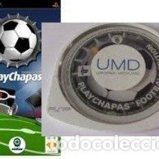 Videojuegos y Consolas: LOTE OFERTA JUEGO SONY PSP - PLAY CHAPAS - FOOTBALL EDITION - SIN CAJA - SOLO JUEGO. Lote 180152282