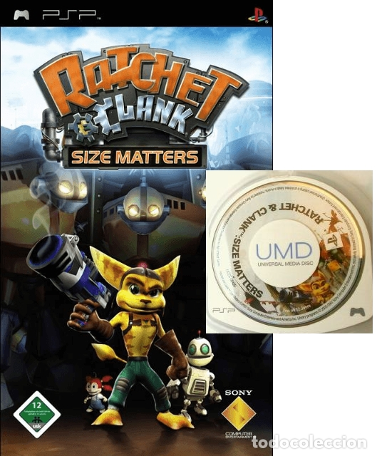 LOTE OFERTA JUEGO SONY PSP - RATCHET & CLANK - SIZE MATTERS (Juguetes - Videojuegos y Consolas - Sony - Psp)