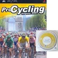 Videojuegos y Consolas: LOTE OFERTA JUEGO SONY PSP - PRO CYCLING 2007 - SIN CAJA - SOLO JUEGO. Lote 180153035