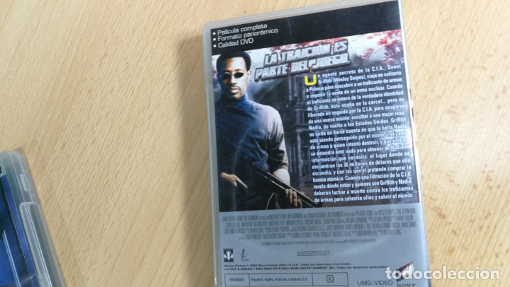 Videojuegos y Consolas: LOTE DE PELÍCULAS PARA PSP - Foto 8 - 180514041
