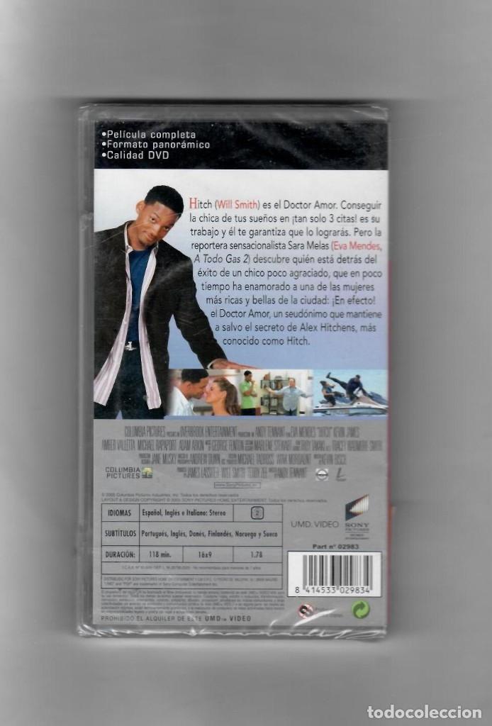 Videojuegos y Consolas: Hitch [UMD VIDEO] PSP, Nuevo precintado, PELÍCULA COMPLETA - Foto 2 - 49610020