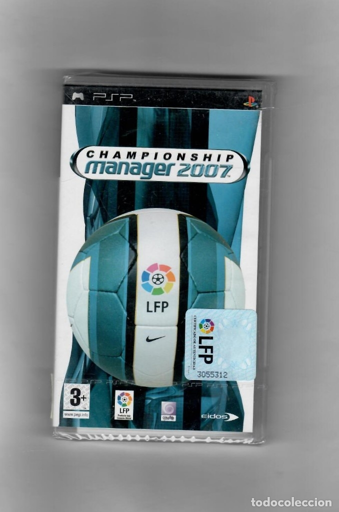 CHAMPIONSSHIP -MANAGER 2007 [PSP] TOTALMENTE EN CASTELLANO- SEGUNDA MANO NUEVO (Juguetes - Videojuegos y Consolas - Sony - Psp)