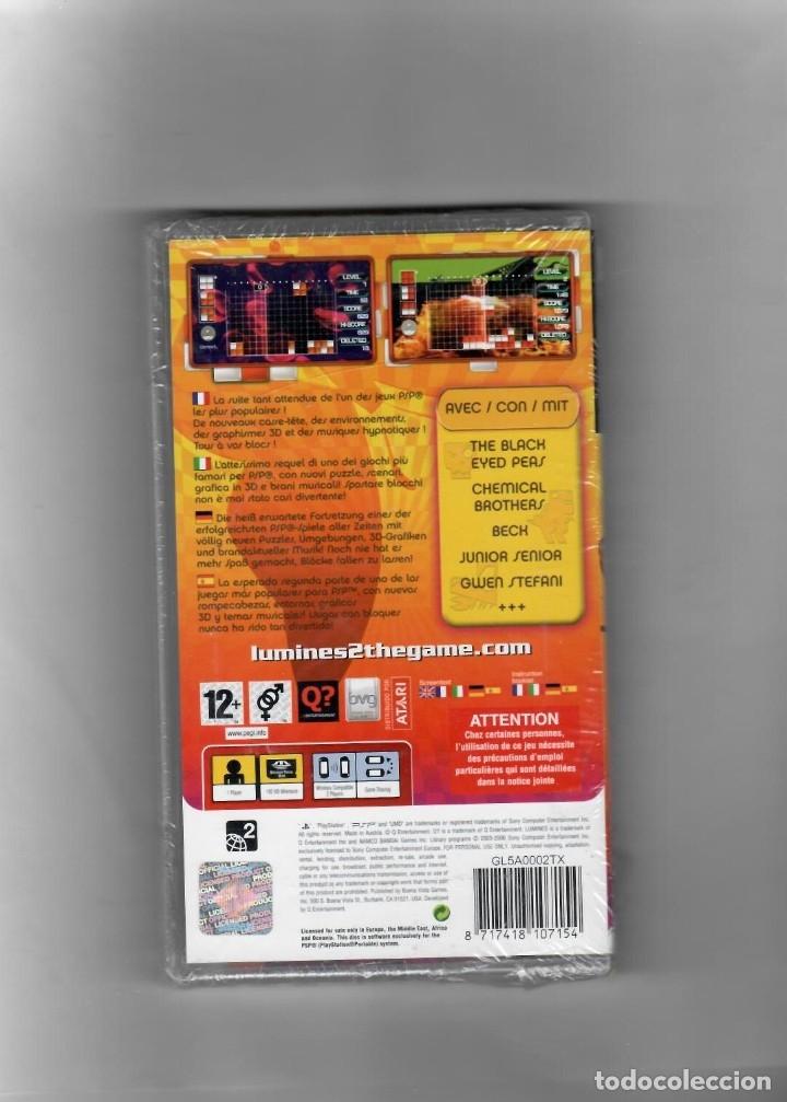 Videojuegos y Consolas: Lumines II [PSP ]Idioma Español, Francés,Italia, Alemania -segunda mano nuevo - Foto 2 - 49607086