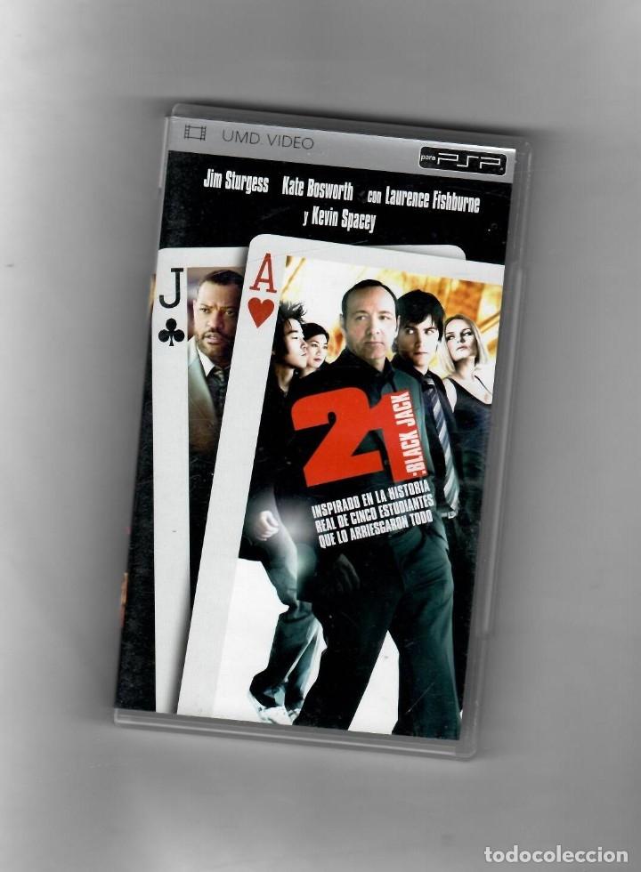 21: BLACK JACK [UMD VIDIO] PSP SEGUNDA MANO BUENO (Juguetes - Videojuegos y Consolas - Sony - Psp)