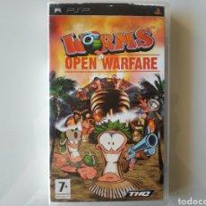 Videojuegos y Consolas: WORMS OPEN WARFARE PSP. Lote 181107833
