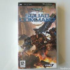 Videojuegos y Consolas: WARHAMMER 40000 SQUAD COMMAND PSP. Lote 181107976