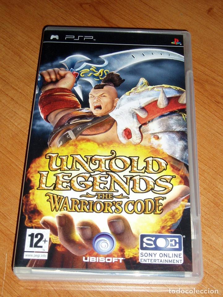 UNTOLD LEGENDS THE WARRIOR'S CODE SONY PSP - PAL ESPAÑA + MATERIAL EXTRA (Juguetes - Videojuegos y Consolas - Sony - Psp)