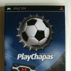 Videojuegos y Consolas: PLAYCHAPAS FOOTBALL EDITION, JUEGO PLAYSTATION PSP. UMD. Lote 181229612