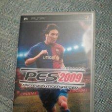Videojuegos y Consolas: JUEGO PARA PSP PES 2009. Lote 183602393