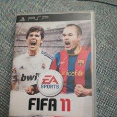 Videojuegos y Consolas: JUEGO PARA PSP FIFA11. Lote 183602788