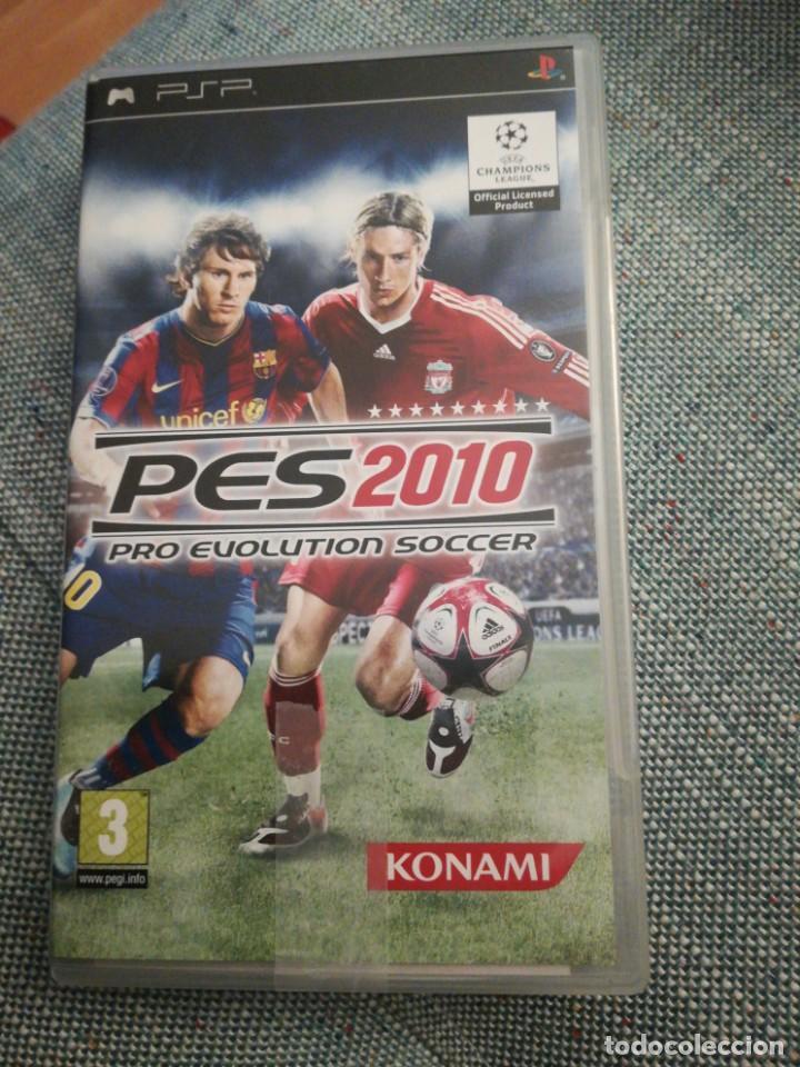 JUEGO PARA PSP PES 2010 (Juguetes - Videojuegos y Consolas - Sony - Psp)