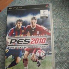Videojuegos y Consolas: JUEGO PARA PSP PES 2010. Lote 183603147