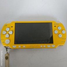 Videojuegos y Consolas: PSP SLIM AMARILLA (EDICIÓN LIMITADA SIMPSON). Lote 235282065