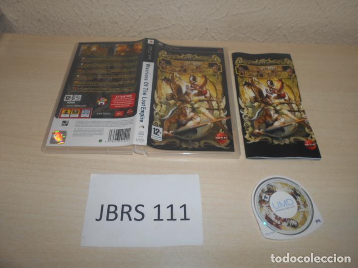PSP - WARRIORS OF THE LOST EMPIRE , PAL ESPAÑOL , COMPLETO (Juguetes - Videojuegos y Consolas - Sony - Psp)