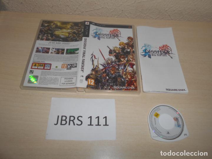 PSP - DISIDIA FINAL FANTASY , PAL ESPAÑOL , COMPLETO (Juguetes - Videojuegos y Consolas - Sony - Psp)