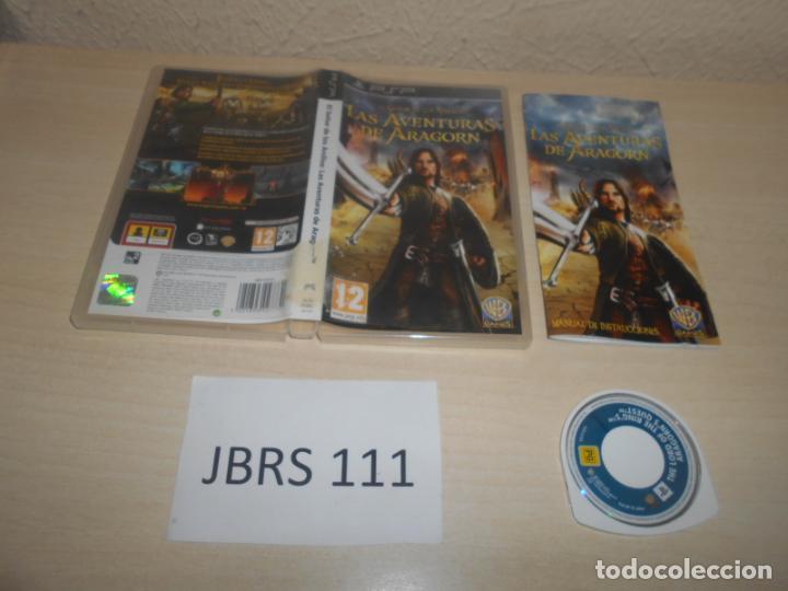 PSP - EL SEÑOR DE LOS ANILLOS , LAS AVENTURAS DE ARAGORN , PAL ESPAÑOL , COMPLETO (Juguetes - Videojuegos y Consolas - Sony - Psp)